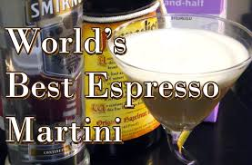espresso martini world u0027s best espresso martini cocktail recipe thefndc com youtube