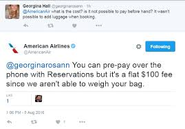 aa baggage fee a trick to saving money on overweight baggage with american airlines