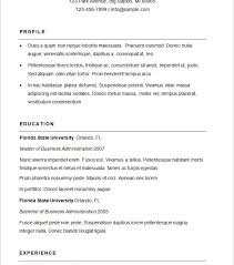 Basic Resume Template 51 Free by First Rate Sample Basic Resume 3 Basic Resume Template 51 Free