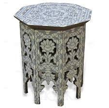 moroccan dining room coffee tables moroccan side table wooden marrakesh tables