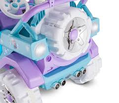 purple barbie jeep amazon com disney frozen 4x4 jeep 6v kt1205 ride on blue toys