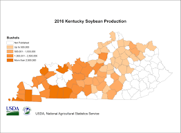 Ky County Map Usda National Agricultural Statistics Service Kentucky