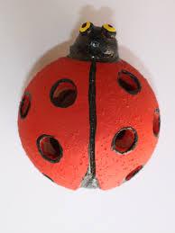 Ladybug Home Decor A Little Terracotta Lady Bug As Unique Garden Decor