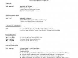 Example Nursing Resumes by Student Nurse Resume Resume Objective For Rn Cover Letter Quotes