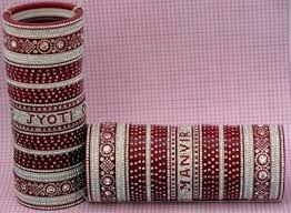 Personalized Bangles 9 Traditional Punjabi Wedding Bangles For Bride