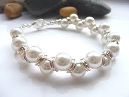 pearl beaded bracelet images How many ways to make a goddess bracelet georgia p designs jpg
