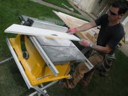 Job Site Table Saw Tool Review Dewalt Dw744 Job Site Table Saw Old House Web Blog