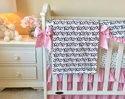 baby crib sets pink and gold luxury crib bedding ritzy