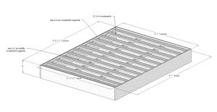 Build Platform Bed King Size by Diy Platform Bed Almost There And Living In Style View Along