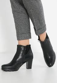 womens boots gabor gabor toye slim ankle boots gabor platform boots schwarz