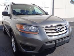 2011 used hyundai santa fe fwd 4dr i4 automatic gls at honda mall
