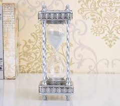 european style 10 inch 30 minutes hourglass sand timer decoration