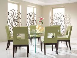 Glass Dining Table And Chairs Glass On Glass Dining Table With Sage Chairs Cort Com