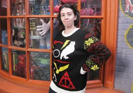 product review harry potter ugly christmas sweater potter talk