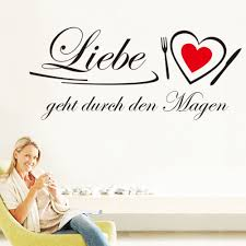 quotes wall stickers german