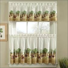 Sunflower Kitchen Curtains Amazon Curtains Eyelet Medium Size Of Top Kitchen Sheer Valances