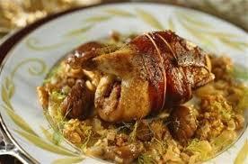 caille cuisine caille farcie au foie gras d oie avec fenouil aux marrons