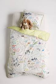 Map Bedding Wilderness Map Toddler Quilt U0026 Playmat Nursery Babies And