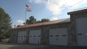Triad Flag Football Confederate Flag Flies Over Nc Volunteer Fire Station That Gets