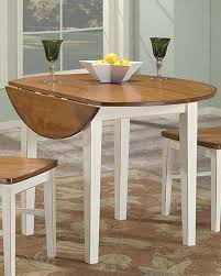 round dining room table with leaf drop leaf round dining table arlington inar4242dtab