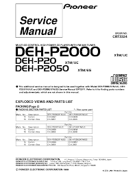 pioneer deh p2000 wiring diagram pioneer wiring diagrams collection