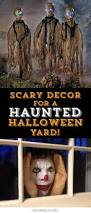 scary decor ideas for a haunted halloween yard if you would