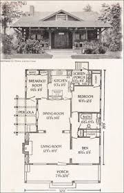 small bungalow style house plans craftman bungalow style house 1921 american homes beautiful