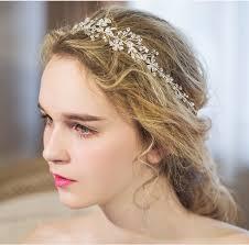 wedding headband aliexpress buy dower me shine silver rhinestone bridal hair