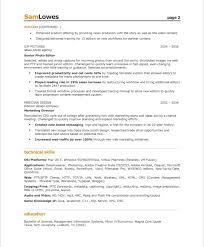 Video Production Resume Samples by Content Producer Resume Samples U0026 Examples
