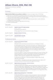Nurse Practitioner Resume Examples Ob Gyn Resume Professional Ob Gyn Nurse Templates To Showcase