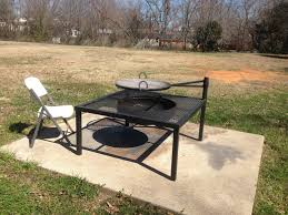 Cowboy Grill And Fire Pit by Custom Bbq Smokers Custom Bbq Pits Fire Pits Bbq Trailers