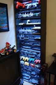 Classic Game Room Derek - video game console shelving classic video games video game