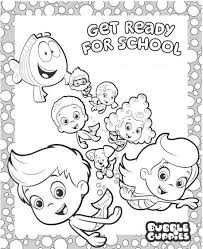19 bubble guppies coloring pages cartoons printable coloring pages