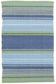 Outdoor Blue Rug Stripe Blue Green Indoor Outdoor Rug Dash Albert