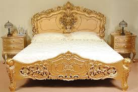 Rococo Bed Frame Rococo Bed Frame Late Baroque Furniture Replica