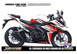honda cbr150r modifikasi striping motor honda cb150r facelite joehansb decal
