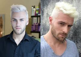 platinum blonde men u0027s hairstyles to be the trend hairdrome com