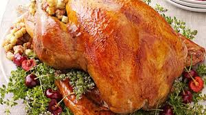 37 cooks roast turkey with turkey with cherry stuffing recipe taste of home
