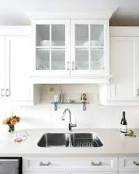 shelf above bathroom sink staggering shelf over kitchen sink glass doors shelf above kitchen