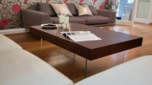 espresso wood coffee table large modern dark wood coffee table clear glass legs uk