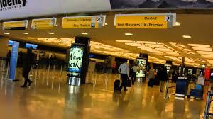 Jfk Terminal 4 Map Jfk Terminal 7 Departure Area Youtube
