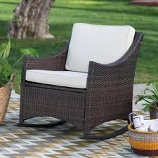 resin wicker outdoor rocking chairs hayneedle