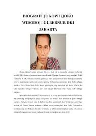 profil sosok jokowi biografi sby soekarno hatta dan jokowi