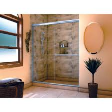 glass shower door towel bar replacement holcam distinctive 60 in x 70 1 2 in semi frameless sliding
