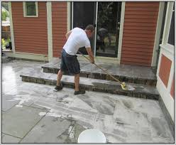 Cleaning Patio With Pressure Washer Clean Patio Without Pressure Washer Icamblog
