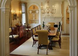 Period Colonial Home Dining Room Philadelphia By Dewson - Colonial dining rooms