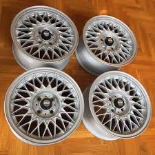 bmw e30 rims for sale bmw e30 genuine bbs 7x15 style 5 alloy wheels rims euroweaves