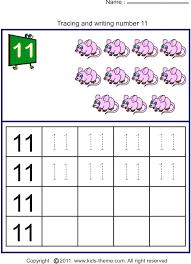 number 11 worksheet worksheet on number 11 preschool number