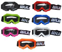 pink motocross goggles wulfsport cub tech motocross goggles