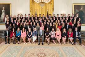 the white house releases a photo of its interns and the internet